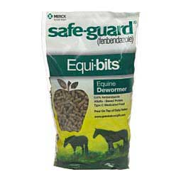 Safe-Guard Equi-Bits Pellet Horse Wormer Merck